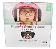 HP ENVY7864 Photo All-in-One Wireless Inkjet Printer w/ Duplex Printing & Wi-Fi