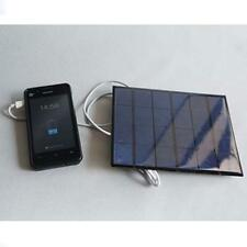 6v 3.5w 580-600MA Solar Panel USB Travel Battery Charger For iPhone 5S 6 6S Plu(