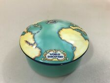 Tiffany & Co Tauck World Discovery Map Porcelain Container trinket box France