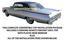 FORD GALAXIE, SUNLINER CONVERTIBLE TOP DO IT YOURSELF PACKAGE 1960