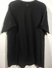 Men's Hane's Comfort Soft Heavyweight Summer Tee Shirt Size XL Black NWOT-D87