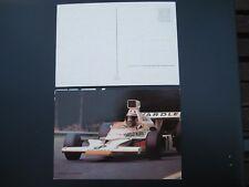 Autogrammkarte Peter Revson Yardley McLaren Ford M 23-2 ca.10x15cm