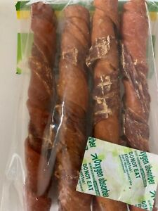 """6"""" Porkhide twist rolls with Duck meat wrap for dogs"""