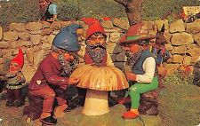 BR66039 the gnomes garden blackgang chine    isle of wight   uk 14x9cm