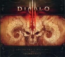 Diablo III Soundtrack 3 Collector's w/ Artwork MUSIC AUDIO CD video game tracks!