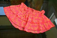 Womens Vtg Ladies Retro 90s Sexy Summer Beach Lace Sheer Mini Skirt sz L/XL LW