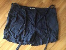 NWOT Target blue linen roll cuff shorts Size 18