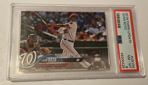 2018 TOPPS UPDATE JUAN SOTO RC ROOKIE PSA 8 INVEST! 💰