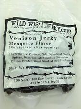 Premium Delicious 100% Natural Venison Mesquite 2 OZ. Wild West Jerky - 30 Pack