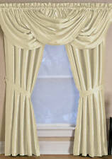 NEW - Elrene Versailles Window Panel Ivory 108 Long 52 Wide FREE 3 DAY SHIPPING