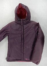Burton Duck Down Reversible Hooded Winter Jacket (Womens Small) Purple