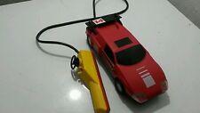 Vintage Toy Sport Car Ferrari Ussr Plastic Battery Remote Control Communist Era