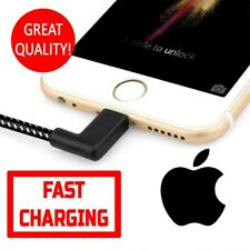 IPHONE CHARGER 2M BRAIDED CABLE 90 DEGREE FAST CHARGING