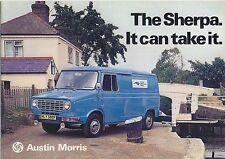 Austin Morris Leyland Sherpa Van Pickup Minibus 1975-78 UK Brochure No. 3060B