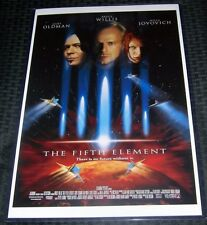 The Fifth Element 11X17 Movie Poster Bruce Willis Jovovich