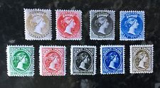 Cinderellas - Gerald King Lundy Is alternative stamps 1877 and 1880 sets.