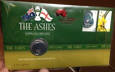 2011 UNC Uncirculated 20c The Ashes PNC LIMITED EDITION 111/250 - Aust v England