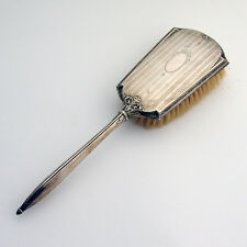Edwardian Clothes Brush Webster 1915 Sterling Silver