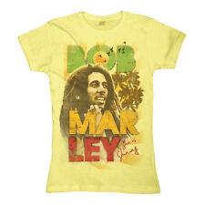 Magliette da donna a manica corta giallo