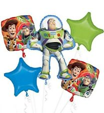 Toy Story Party Balloon Bouquet 5 Pieces