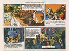 Hal Foster's PRINCE VALIANT – Yeates & Schultz - 20 strips: 01-12/2015