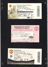 MATCH DAY TICKET for the Manchester United vs Newcastle United at Old Trafford