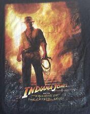 Indiana Jones And The Kingdom Of The Crystal Skull Xl T Shirt Black
