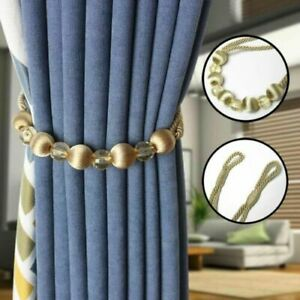 Tie Ropes Curtain Straps Home Decoration Accessories With Crystal Beads Tiebacks