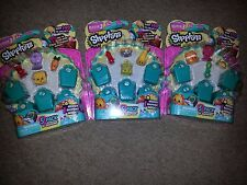 Shopkins 5 pack-Season 3-LOT OF 3-all different-blind-baby-kids-possibly rare