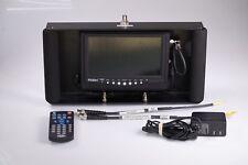 Haier HLT71 7 Inch Portable LCD TV in Rack