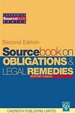 Obligations and Remedies (Sourcebook) by Samuel, Geoffrey
