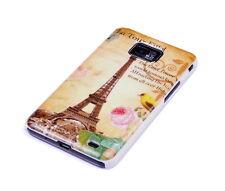Hülle f Samsung Galaxy S2 + plus i9105P Tasche Case Schutzhülle Paris Eiffelturm