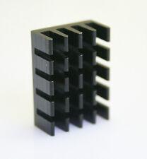 10PCS 14*19*7mm Mini Aluminum Black Heat Sink Chip for IC LED Power Transistor