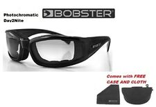 Bobster Mens Guys Sunglasses INVADER Photochromatic Day 2 to Nite Night Shades