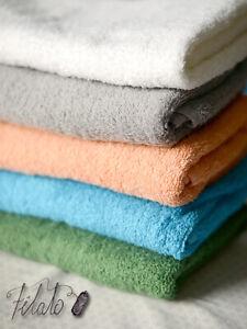 FILATO Premium 100% Cotton Bathroom Bath Towels Soft Fluffy Absorbent Baby Adult