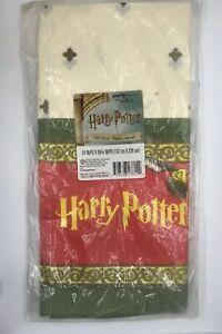"Vintage Halmark Harry Potter Table Cover Paper 54"" x 89"" NEW"