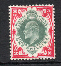 Great Britain 1/- c1902-10 Mounted Mint Stamp (2716)