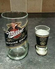 Miller glass and shot glass secret santa stocking filler novelty gift idea