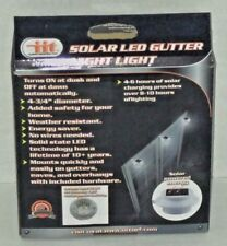 TWO SOLAR LED GUTTER NIGHT LIGHT BY IIT