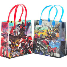 "Transformers Authentic Licensed Reusable Medium 8"" Goodie 12 Bags"