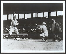 Babe Ruth At Bat at Fenway Park 8x10 Photo c-1930 New York Yankees {Later print}