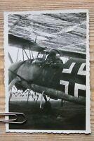 Henschel 126  Aufklärer und Bomber WIDUMUNG 1941 Flugzeug (8,5x6) Original Foto