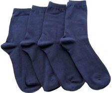 Chaussettes bleus coton mélangé pour garçon de 2 à 16 ans