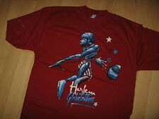 Harlem GlobeTrotters Tee - Platinum Fubu Basketball Team Player T Shirt XLarge