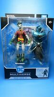 MCFARLANE TOYS ROBIN CROW EARTH-22 ACTION FIGURE DC MULTIVERSE LAUGHING VARIANT
