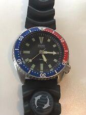 Vintage SEIKO 7002-700A Pepsi Bezel Diver Watch