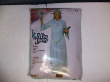 MISS LIBERTY STATUE OF LIBERTY WOMEN HALLOWEEN COSTUME ONE SIZE UP TO 14/16