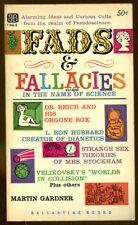 Fads & Fallacies by Martin Gardner-Ballantine PB-1957-L. Ron Hubbard, Velikovsky