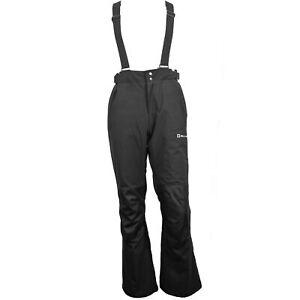 Alpine Swiss Mens Waterproof Snowboard Ski Snow Pants with Removeable Suspenders