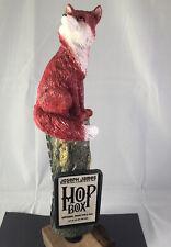 Beer Tap Handle Joseph James Hop Box Beer Tap handle Figural Fox Tap Handle AAA